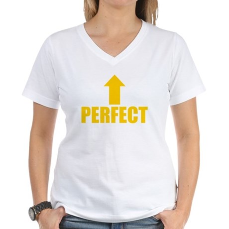I'm Perfect Womens V-Neck T-Shirt