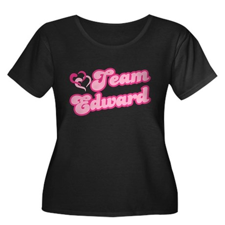 Team Edward Cullen Women's Plus Size Scoop Neck Da