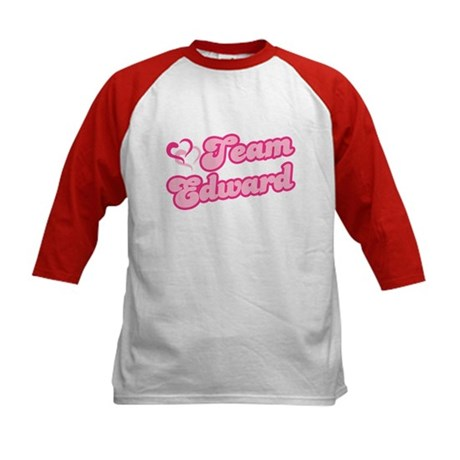 Team Edward Cullen Kids Baseball Jersey