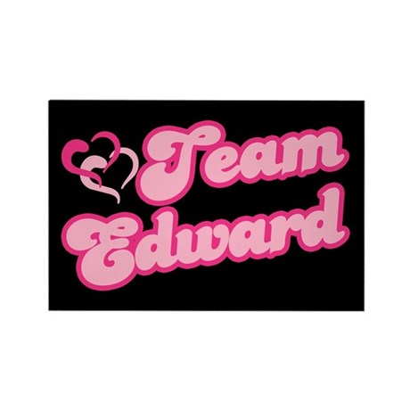 Team Edward Cullen Rectangle Magnet