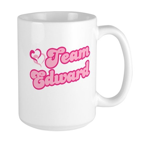 Team Edward Cullen Large Mug