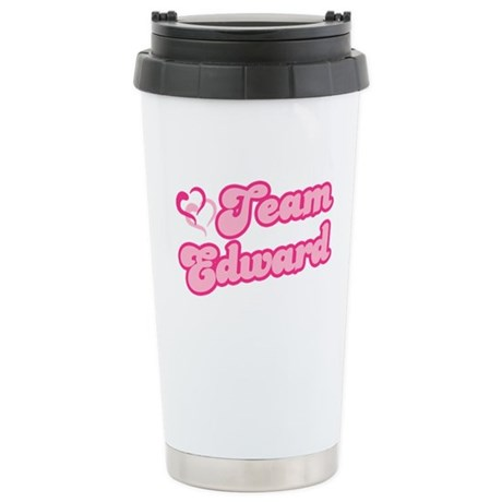 Team Edward Cullen Ceramic Travel Mug
