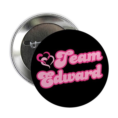 "Team Edward Cullen 2.25"" Button (100 pack)"