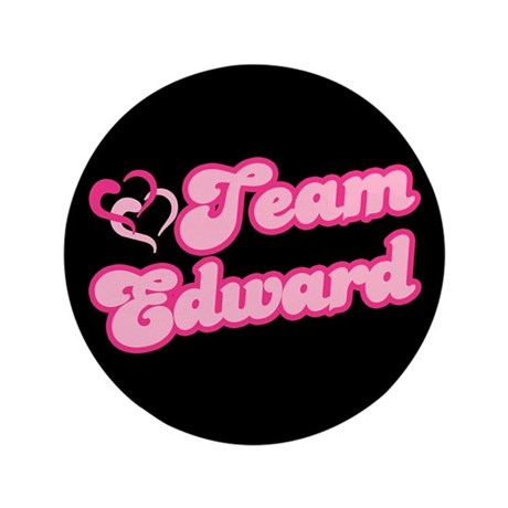 "Team Edward Cullen 3.5"" Button"
