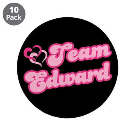 "Team Edward Cullen 3.5"" Button (10 pack)"