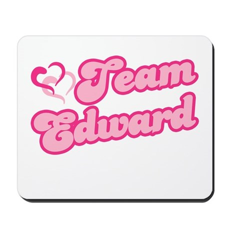Team Edward Cullen Mousepad