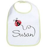Ladybug Susan Bib