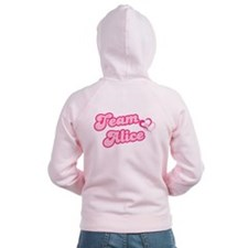 Team Alice Cullen Women's Zip Hoodie