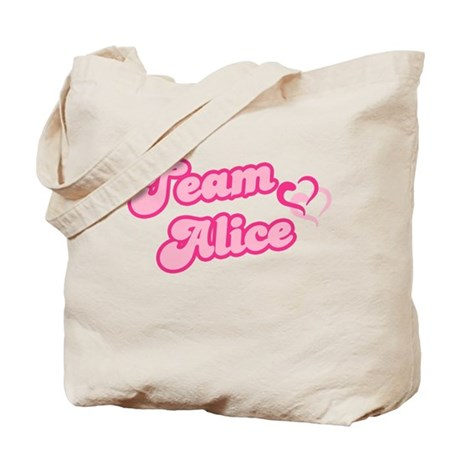 Team Alice Cullen Tote Bag