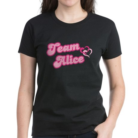 Team Alice Cullen Women's Dark T-Shirt