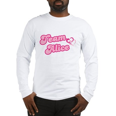Team Alice Cullen Long Sleeve T-Shirt