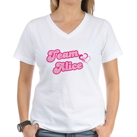 Team Alice Cullen Women's V-Neck T-Shirt