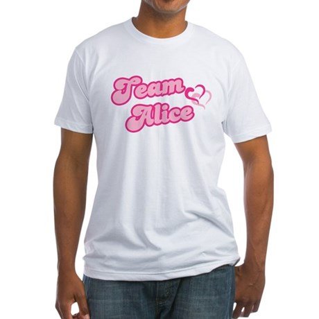 Team Alice Cullen Fitted T-Shirt