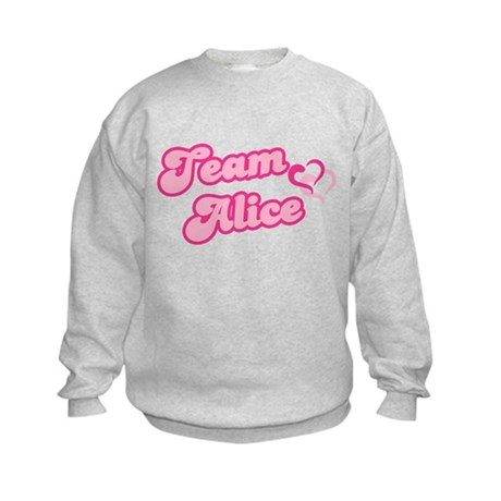 Team Alice Cullen Kids Sweatshirt