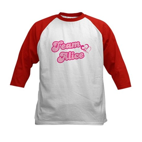 Team Alice Cullen Kids Baseball Jersey