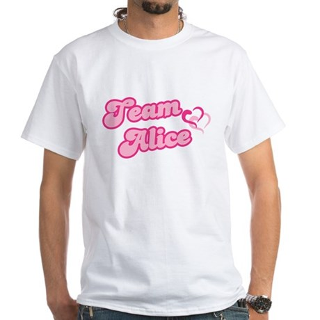 Team Alice Cullen White T-Shirt
