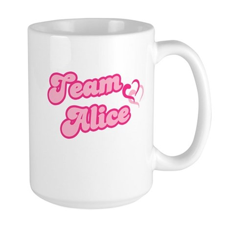 Team Alice Cullen Large Mug
