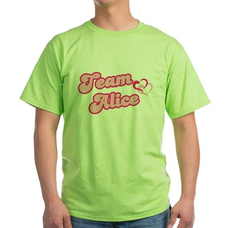 Team Alice Cullen Green T-Shirt
