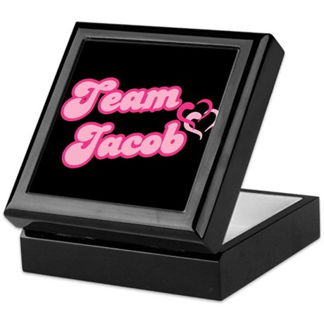 Team Jacob Black Keepsake Box