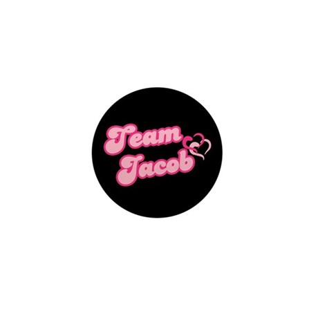 Team Jacob Black Mini Button (100 pack)