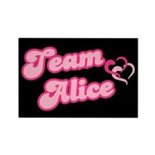 Team Alice Cullen Rectangle Magnet