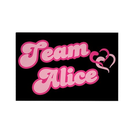 Team Alice Cullen Rectangle Magnet (100 pack)