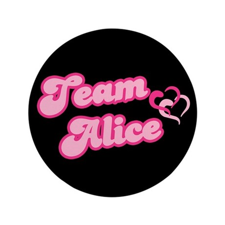 "Team Alice Cullen 3.5"" Button (100 pack)"
