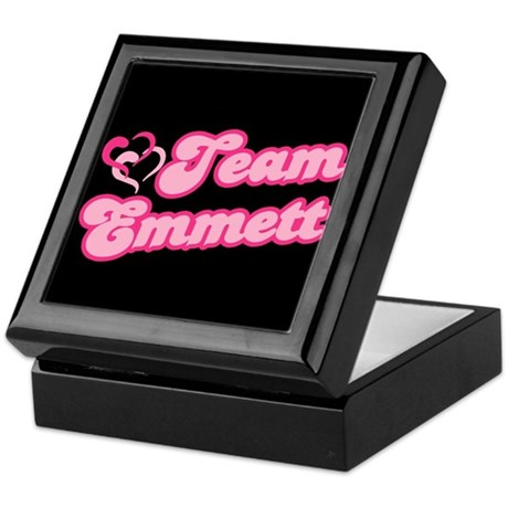 Team Emmett Keepsake Box