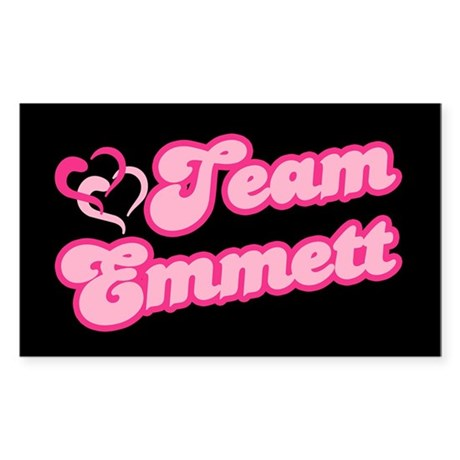 Team Emmett Rectangle Sticker