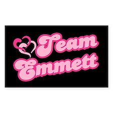 Team Emmett Rectangle Sticker