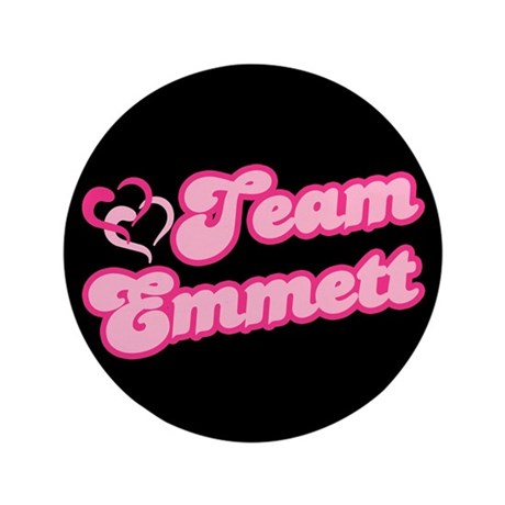 Team Emmett 3.5&quot; Button