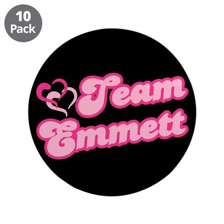 Team Emmett 3.5&quot; Button (10 pack)