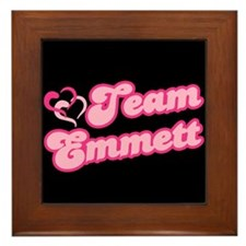 Team Emmett Framed Tile