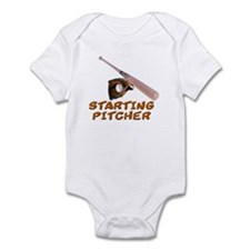 Starting Pitcher Infant Bodysuit