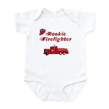 Rookie firefighter Onesie