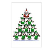 Santa and Elves Postcards (Package of 8)