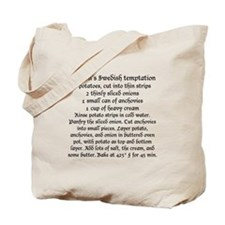 Jansson's temptation and gravlax on Tote Bag