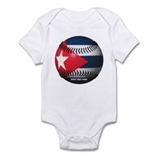 Cuban Baseball Infant Bodysuit