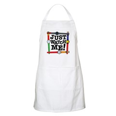 Just Watch Me BBQ Apron