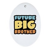 Future Big Brother Oval Ornament