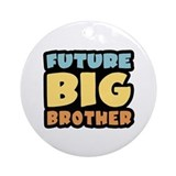 Future Big Brother Ornament (Round)