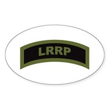 LRRP Tab OD Oval Decal