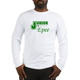 Junior Epee - Green - Long Sleeve T-Shirt