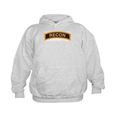 Recon Tab Black and Gold Hoody