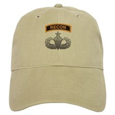 Recon Tab over Senior Airborn Baseball Cap