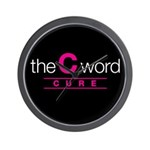The C Word Wall Clock