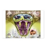 Vaccine Viper Postcards (Package of 8)