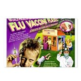 Flu Vaccine Playset Postcards (Package of 8)