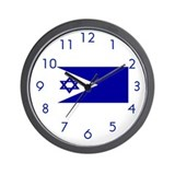 Israel Naval Ensign Wall Clock