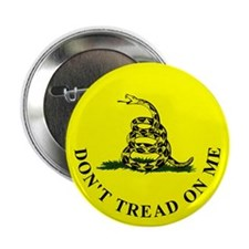"TEA Patriot Don't Tread - 2.25"" Button"